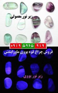 سایت یو وی تولز ( www.uvtools.ir) | چراغ قوه یووی ماورابنفش | چراغ قوه تشخیص و شناسایی سنگ معدنی و جواهرات | پدیده فلئورسنس | تشخیص یاقوت | تشخیص سنگهای اصل از بدل